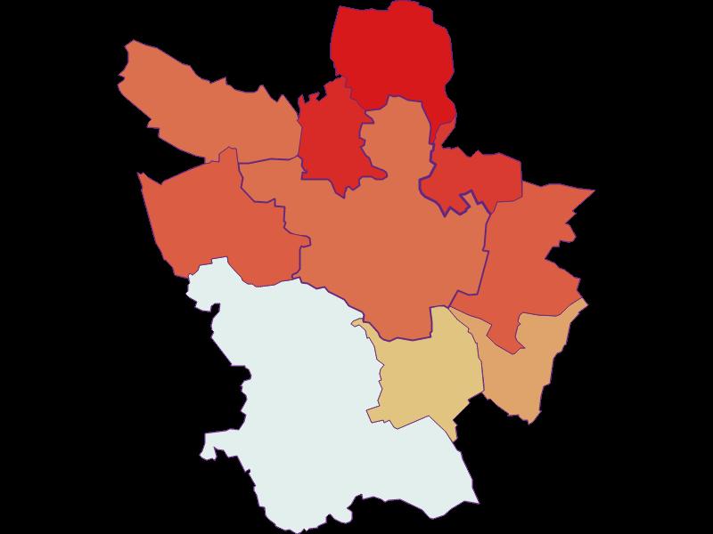 Population development since 1869 in Poysdorf