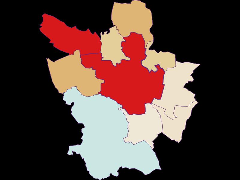 Population development since 2011 in Poysdorf