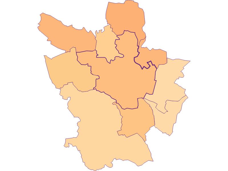 Household size in Poysdorf
