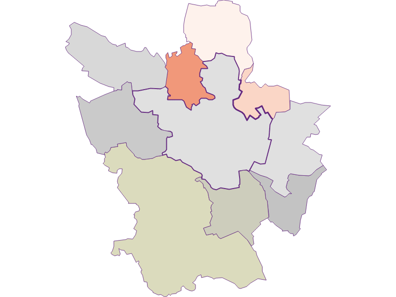 Farmers (comparison to federal state) in Poysdorf