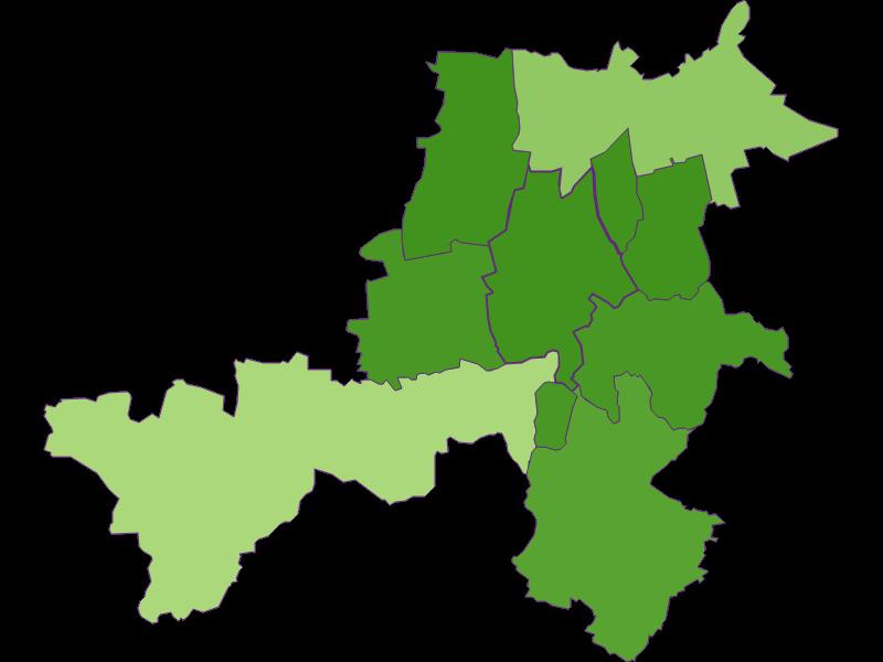 Settlement in Stronsdorf