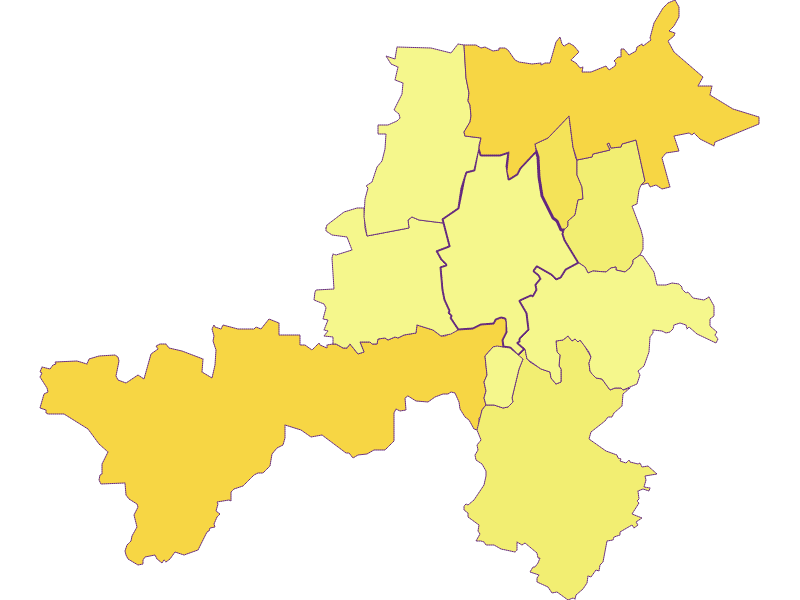 Population density in Stronsdorf