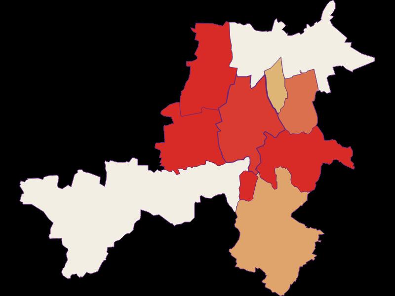 Population development since 1869 in Stronsdorf