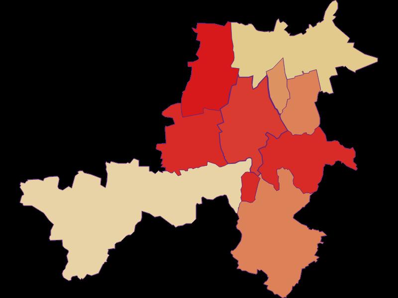 Population development since 1900 in Stronsdorf