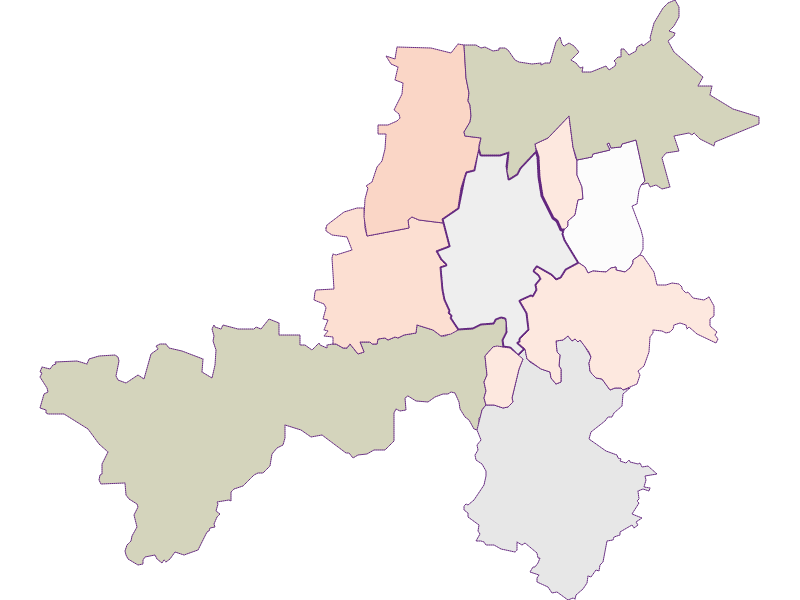 Farmers (comparison to federal state) in Stronsdorf