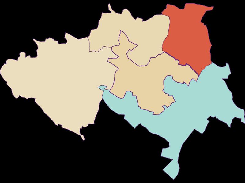 Population development since 1900 in Ulrichskirchen-Schleinbach
