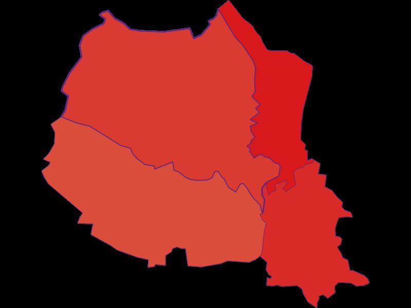Population development since 1900 in Wildendürnbach