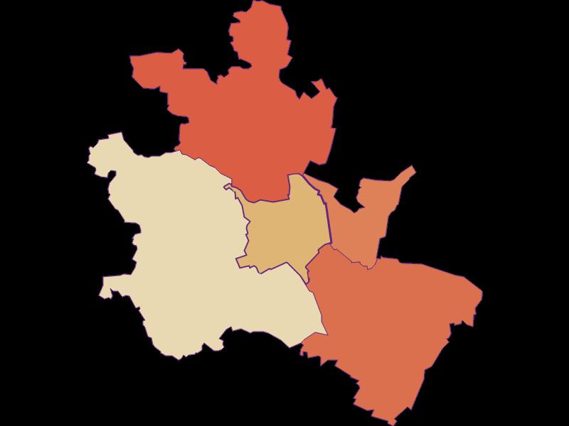 Population development since 1900 in Wilfersdorf