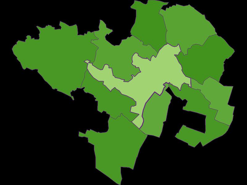 Заселенность в Wolkersdorf im Weinviertel