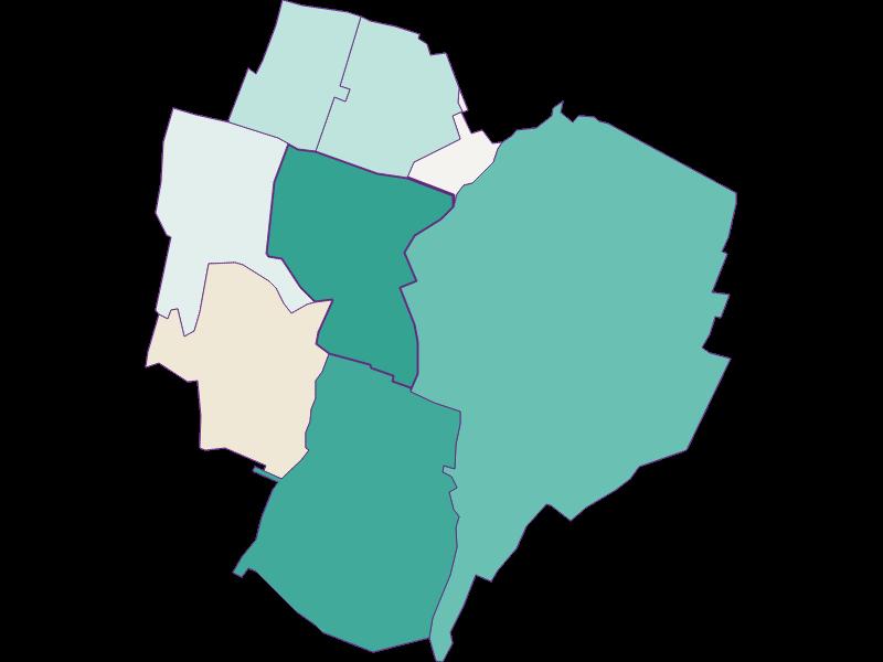 Демография с 2011 года в Achau