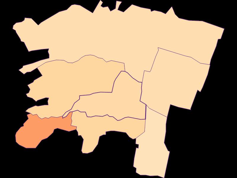 Размер домохозяйства в Brunn am Gebirge