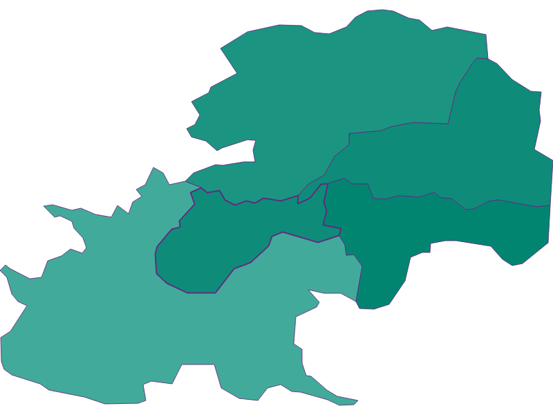 Population development since 1869 in Gießhübl