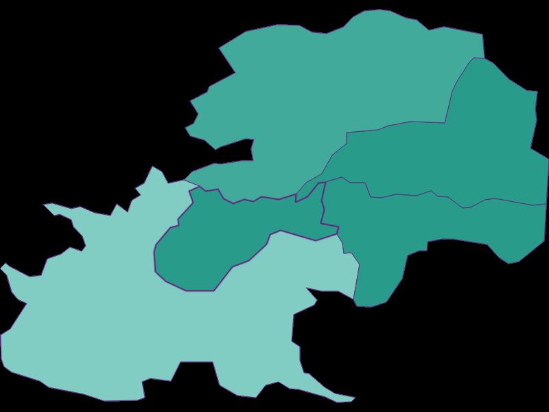 Population development since 1900 in Gießhübl