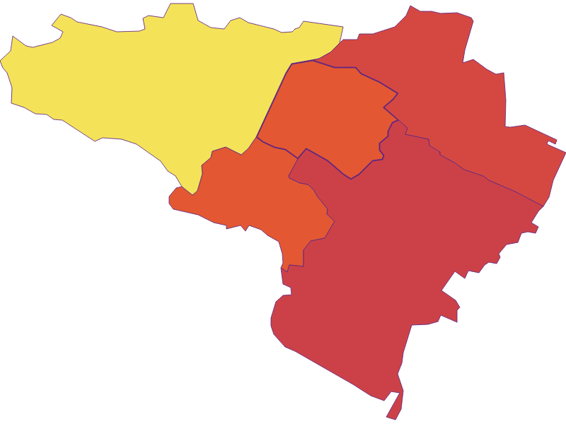 Population density in Gumpoldskirchen