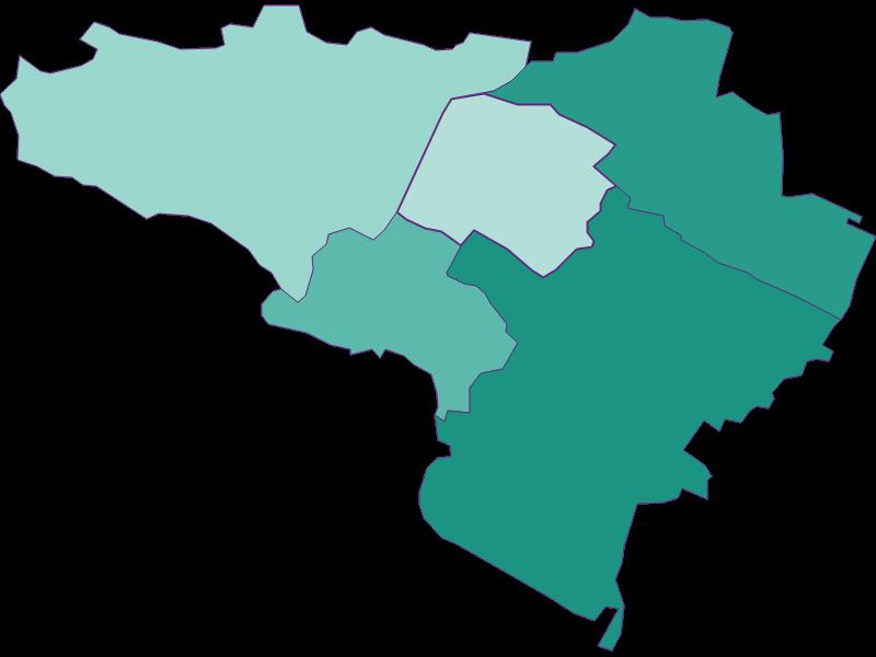 Population development since 1869 in Gumpoldskirchen
