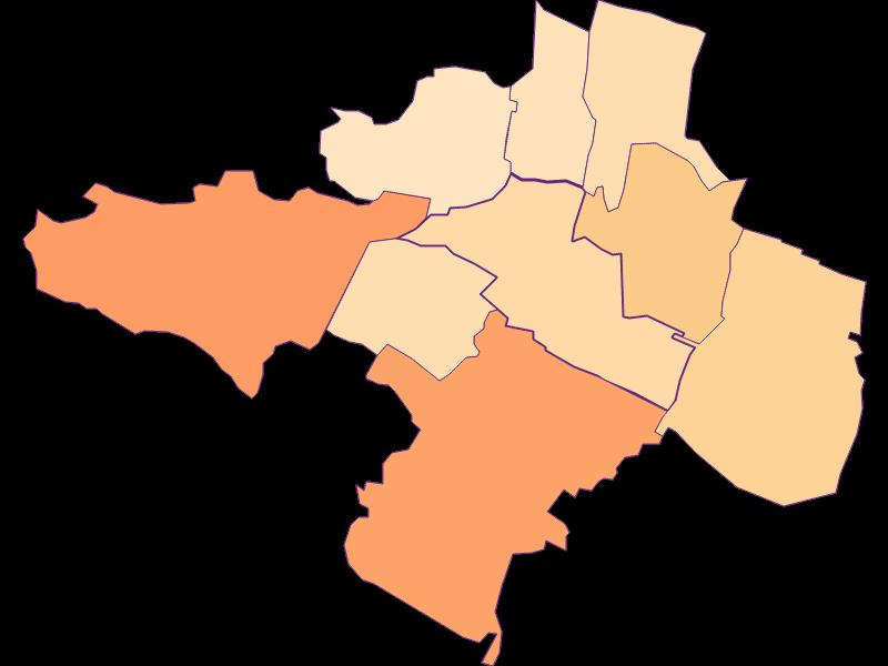 Размер домохозяйства в Guntramsdorf