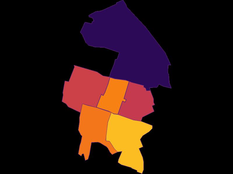 Population density in Hennersdorf