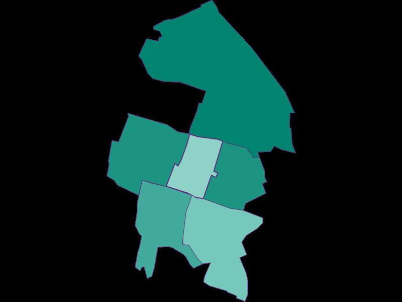 Population development since 1869 in Hennersdorf