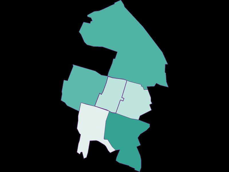 Population development since 2011 in Hennersdorf