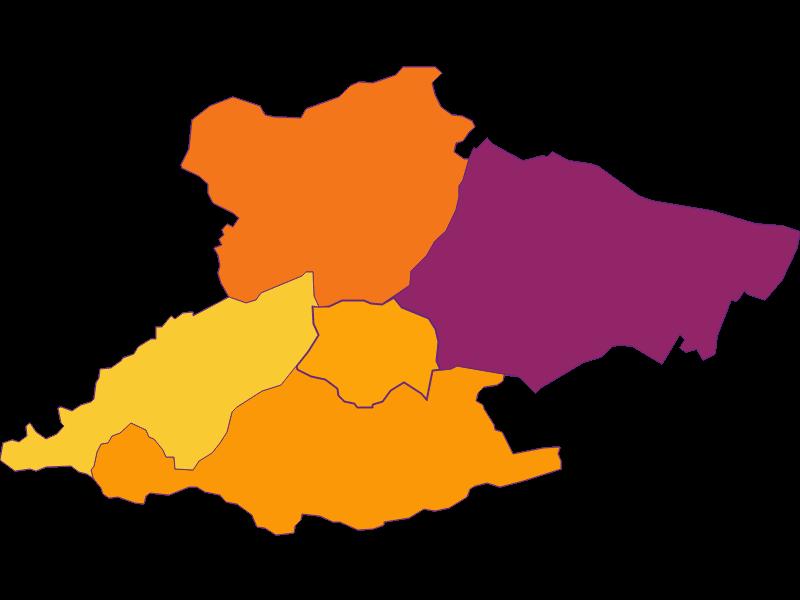 Population density in Laab im Walde