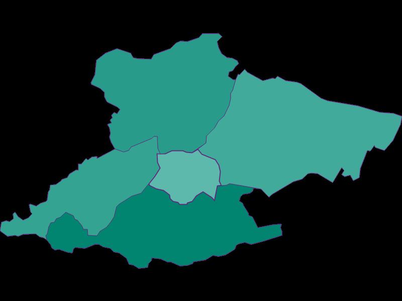 Population development since 1900 in Laab im Walde