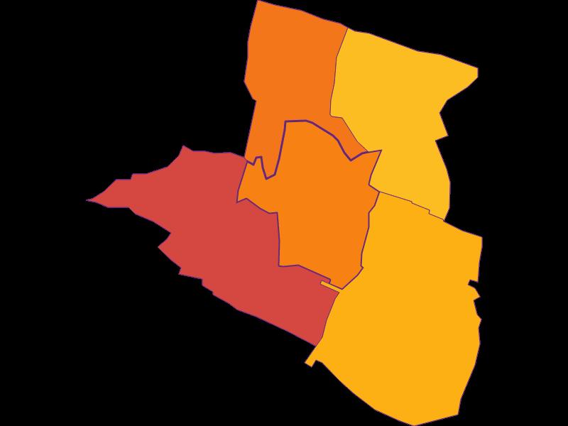 Плотность населения в Laxenburg
