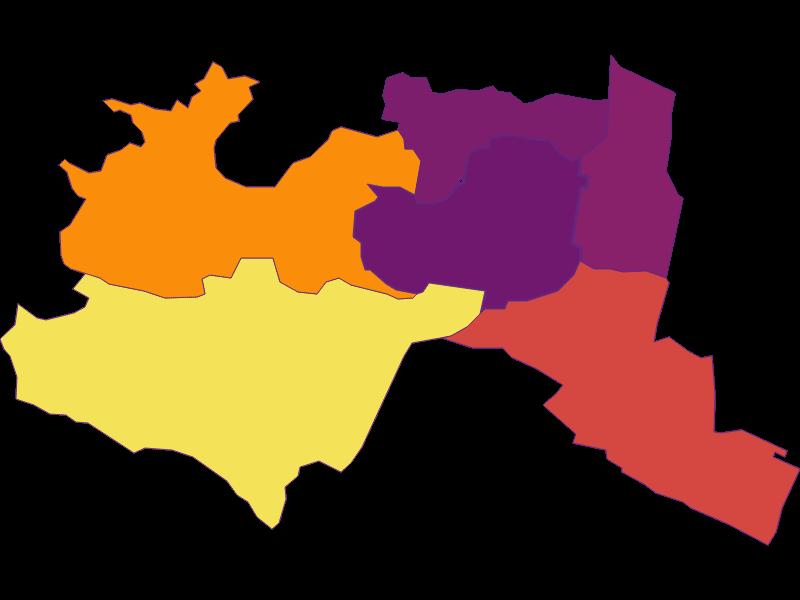 Population density in Mödling