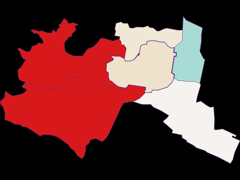 Population development since 2011 in Mödling
