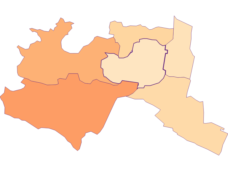 Household size in Mödling