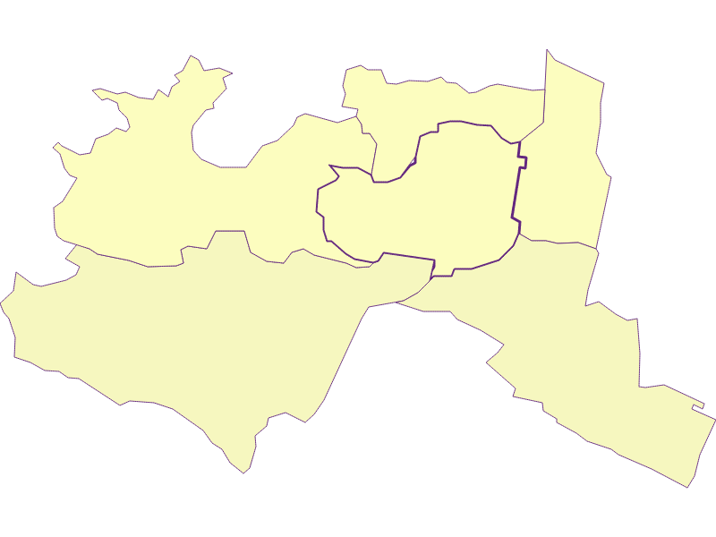 Farmers (comparison to federal state) in Mödling