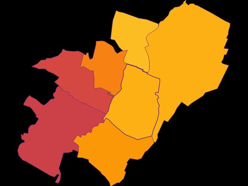 Population density in Münchendorf