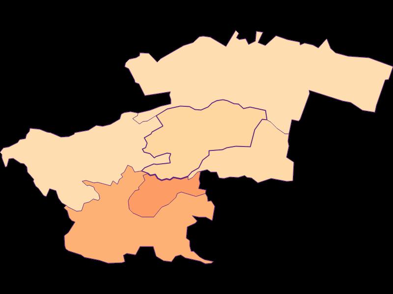 Размер домохозяйства в Perchtoldsdorf