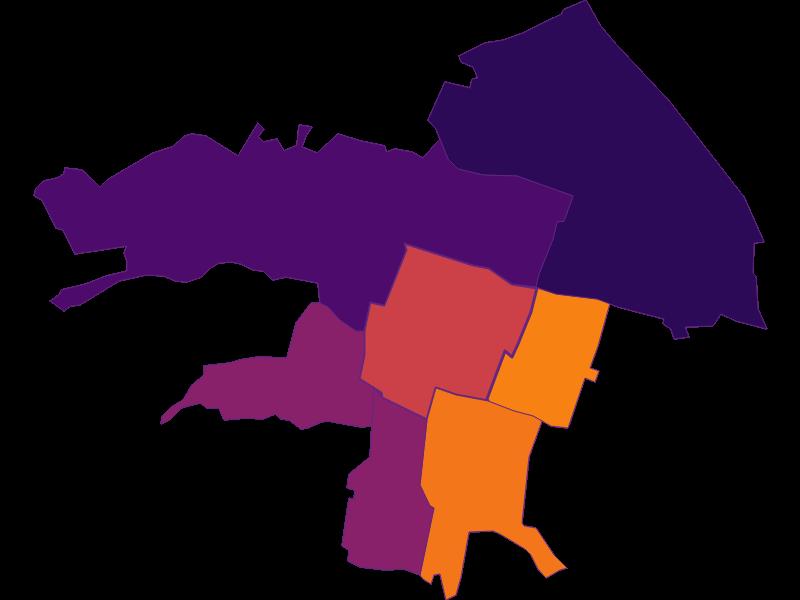 Population density in Vösendorf
