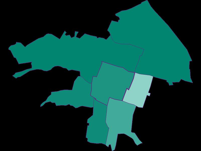 Population development since 1869 in Vösendorf