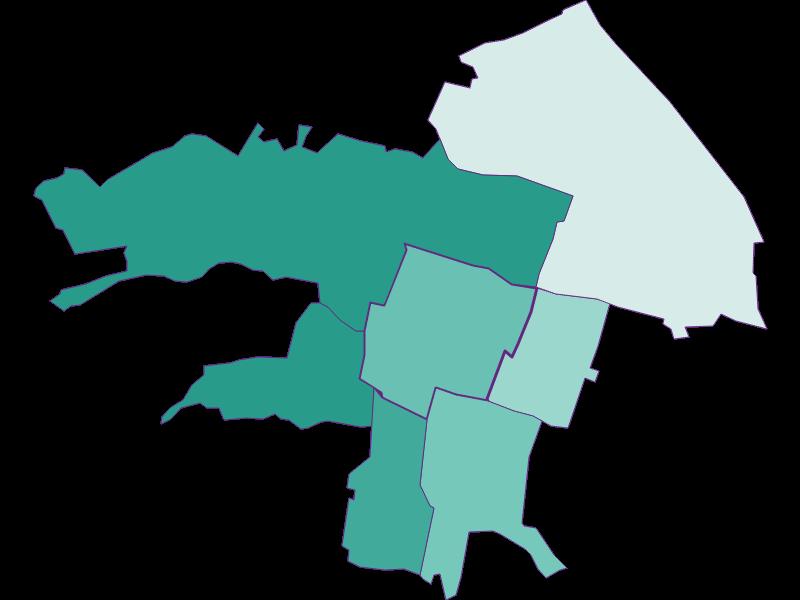 Population development since 1900 in Vösendorf