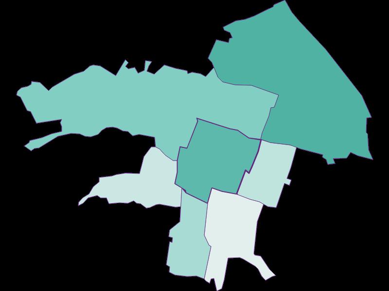 Population development since 2011 in Vösendorf