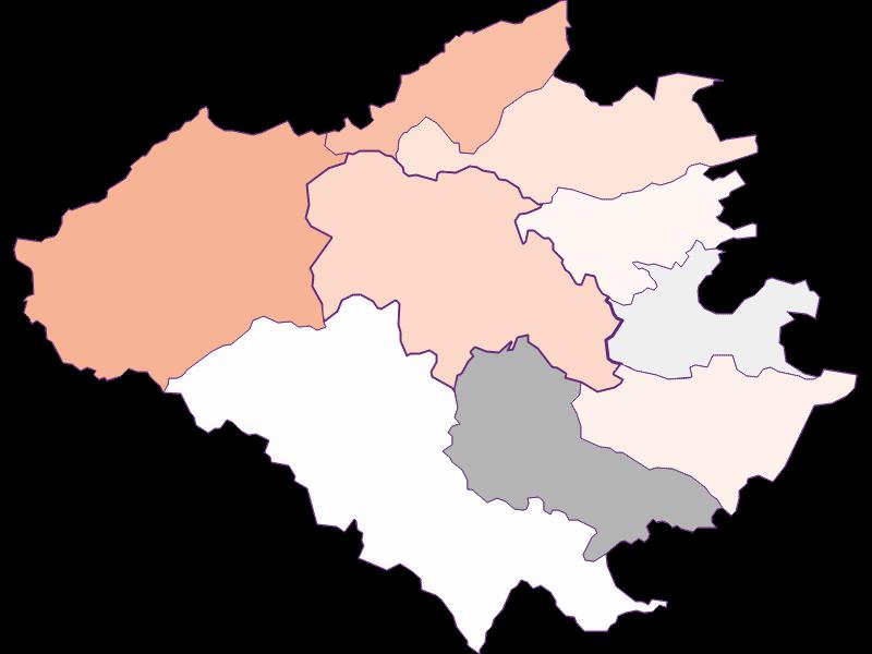 Activity rate in Wienerwald