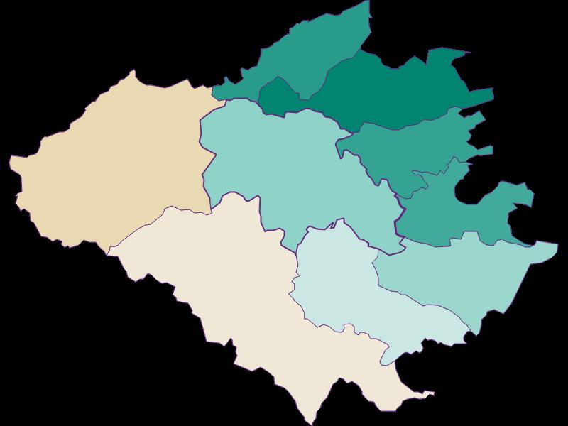 Population development since 1869 in Wienerwald