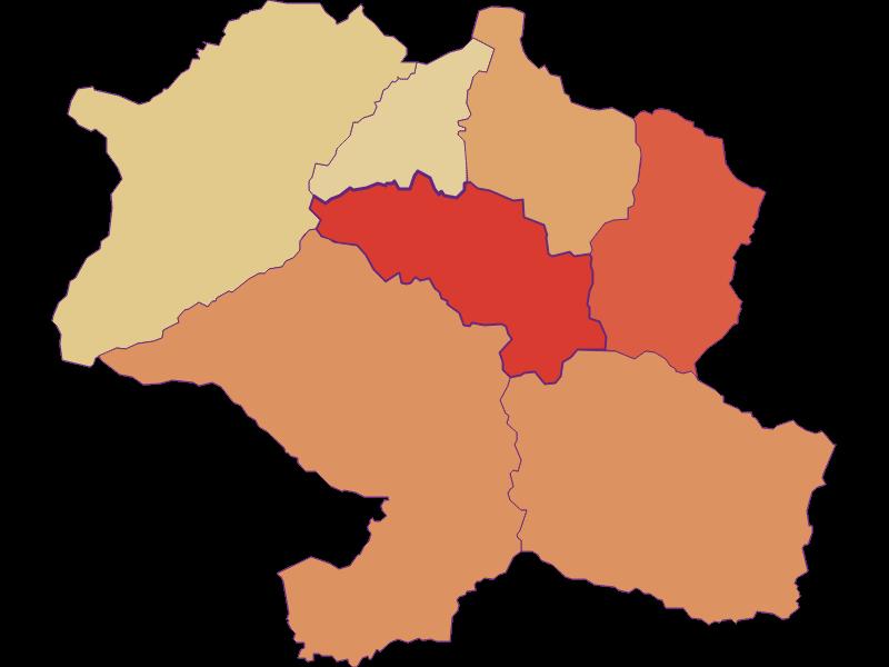 Прирост населения за 2011-2018 | Hohentauern