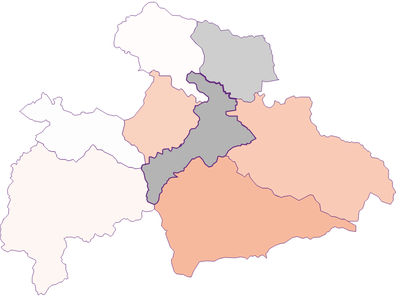 Activity rate in Judenburg