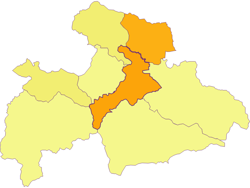 Population density in Judenburg