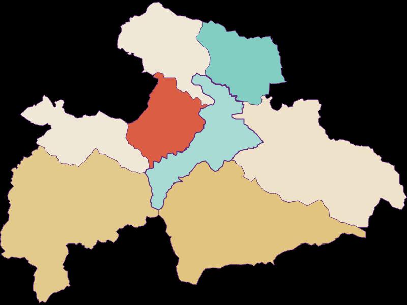 Population development since 1869 in Judenburg