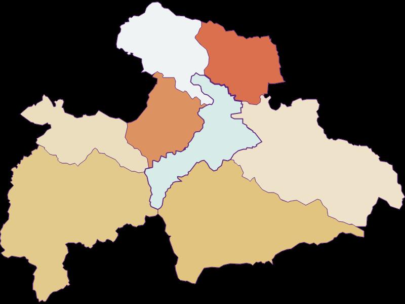 Population development since 1900 in Judenburg