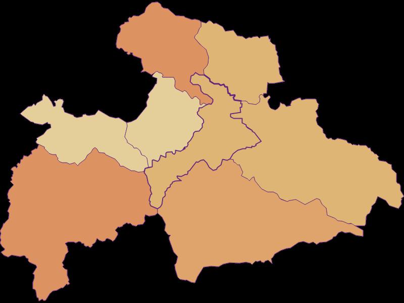 Population development since 2011 in Judenburg