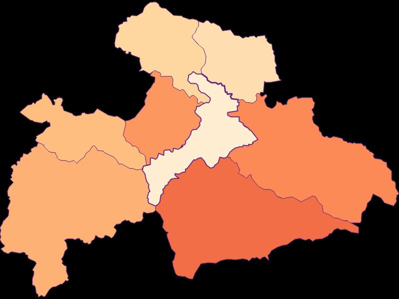 Household size in Judenburg