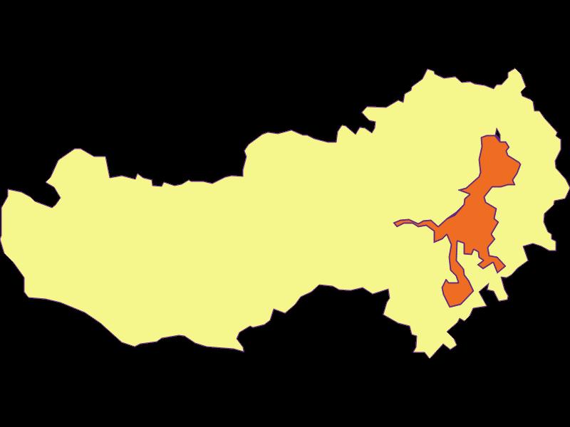 Population density in Aspang-Markt
