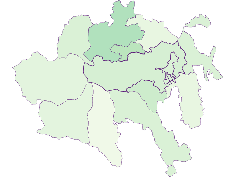 Share of foreigners in Aspangberg-St. Peter