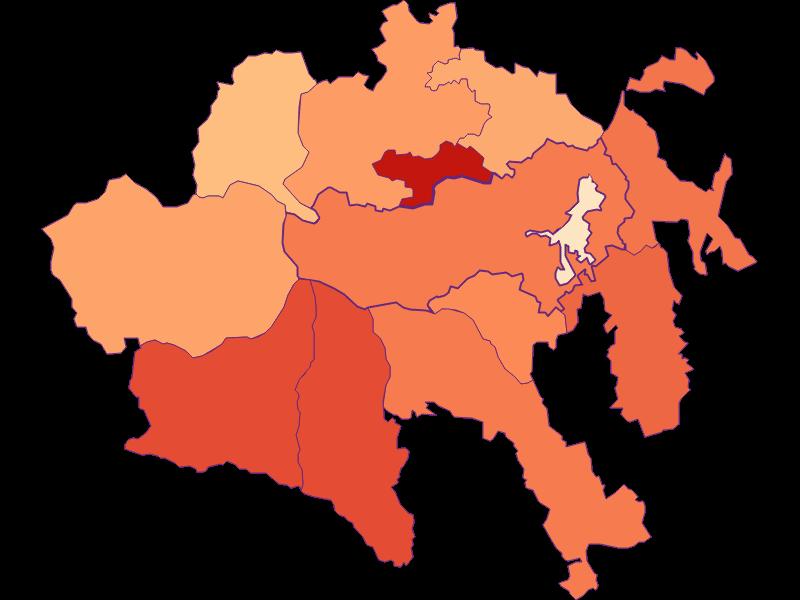 Размер домохозяйства в Aspangberg-St. Peter