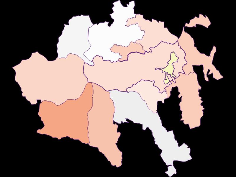 Фермеры (сравнение по Австрии) в Aspangberg-St. Peter