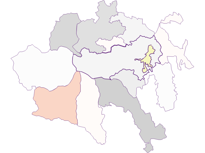 Farmers (comparison to federal state) in Aspangberg-St. Peter